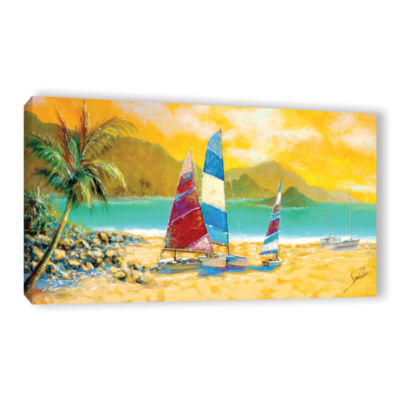 Brushstone Little Bay Trio Gallery Wrapped CanvasWall Art