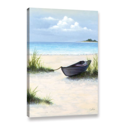 Brushstone North Point Beach Gallery Wrapped Canvas Wall Art