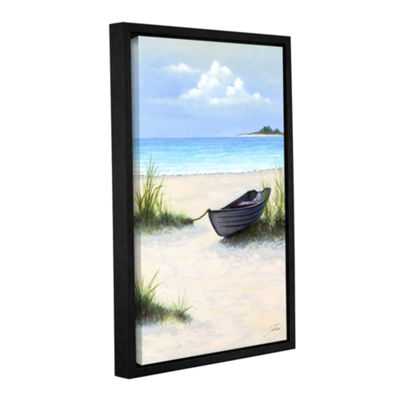 Brushstone North Point Beach Gallery Wrapped Floater-Framed Canvas Wall Art