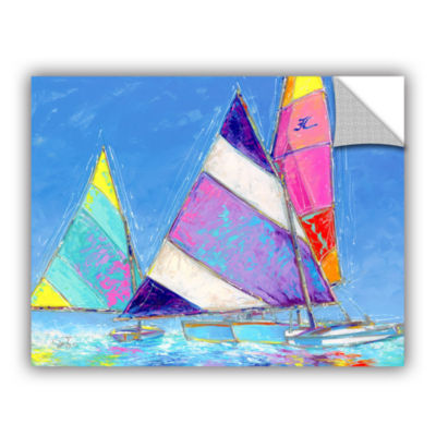 Brushstone Saucy Sails Removable Wall Decal