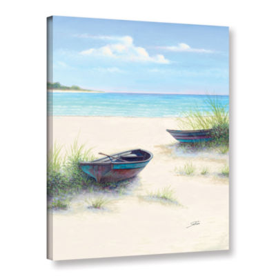 Brushstone South Coral Beach Gallery Wrapped Canvas Wall Art