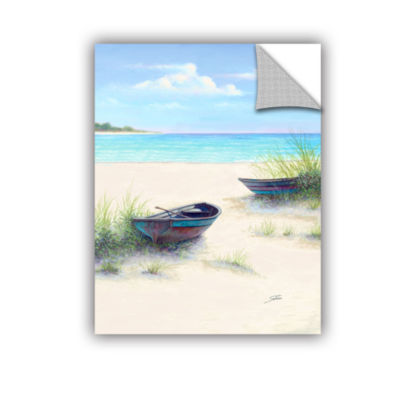 Brushstone South Coral Beach Removable Wall Decal