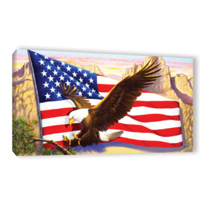 Brushstone Spirit Of America Gallery Wrapped Canvas Wall Art