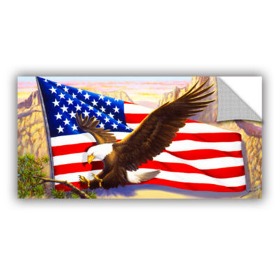 Brushstone Spirit Of America Removable Wall Decal