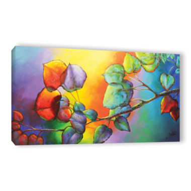 Brushstone Sunshine Gallery Wrapped Canvas Wall Art