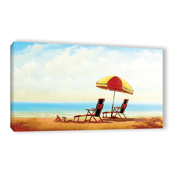 Brushstone Tabago Key Gallery Wrapped Canvas WallArt