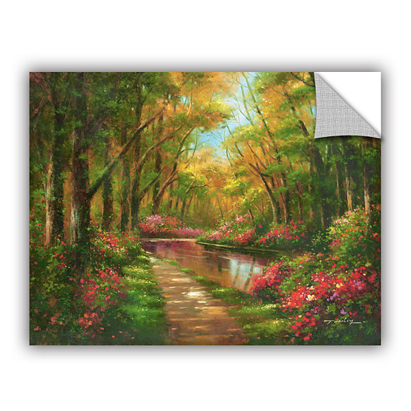 Brushstone Enchanted Creek I Removable Wall Decal