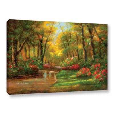 Brushstone Enchanted Creek II Gallery Wrapped Canvas Wall Art