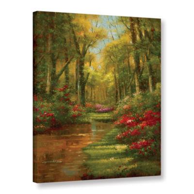 Brushstone Enchanted Creek III Gallery Wrapped Canvas Wall Art