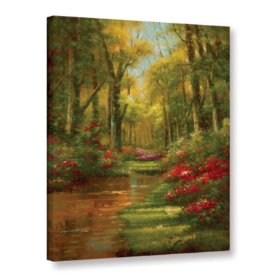 Brushstone Enchanted Creek III Gallery Wrapped Canvas Wall Art
