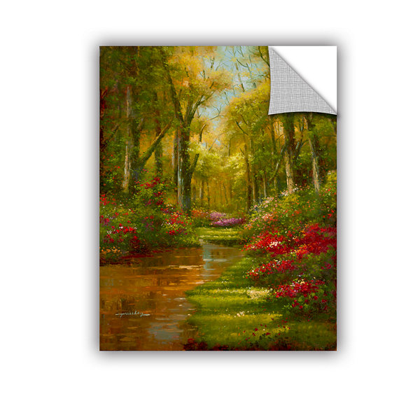 Brushstone Enchanted Creek III Removable Wall Decal