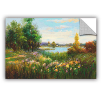 Brushstone Spring Flowers And Vista Removable WallDecal