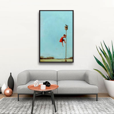 Brushstone Competition Gallery Wrapped Floater-Framed Canvas Wall Art