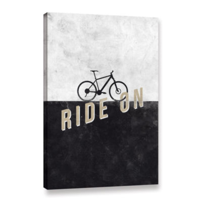 Brushstone Ride On Gallery Wrapped Canvas Wall Art