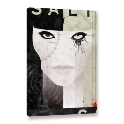 Brushstone Salt Gallery Wrapped Canvas Wall Art
