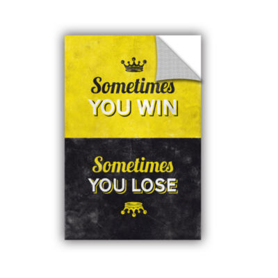 Brushstone Sometimes Removable Wall Decal