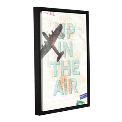 Brushstone Up In The Air Gallery Wrapped Floater-Framed Canvas Wall Art
