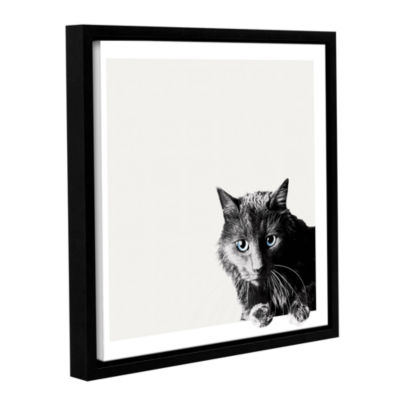 Brushstone Cath Of The Day Gallery Wrapped Floater-Framed Canvas Wall Art