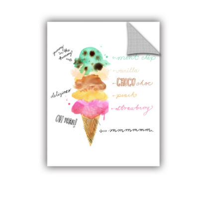 Brushstone Summer Flavours Removable Wall Decal