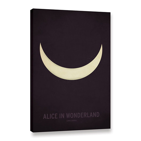Brushstone Alice in Wonderland Gallery Wrapped Canvas Wall Art