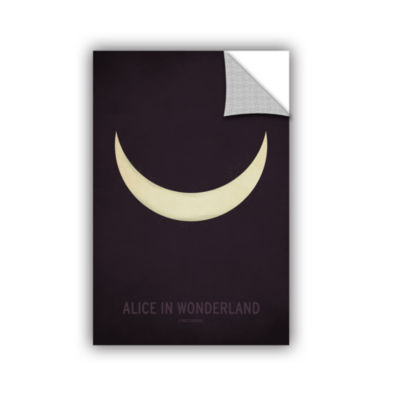 Brushstone Alice in Wonderland Removable Wall Decal