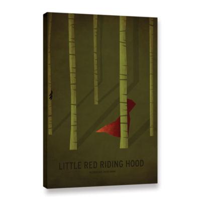 Brushstone Little Red Riding Hood Gallery WrappedCanvas Wall Art