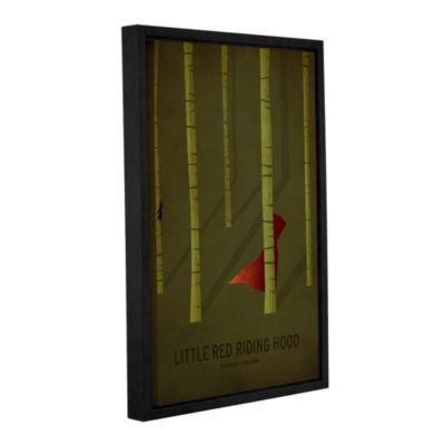 Brushstone Little Red Riding Hood Gallery WrappedFloater-Framed Canvas Wall Art