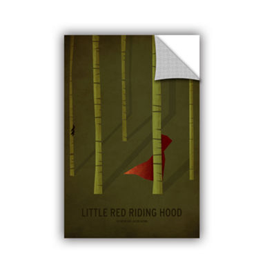 Brushstone Little Red Riding Hood Removable Wall Decal
