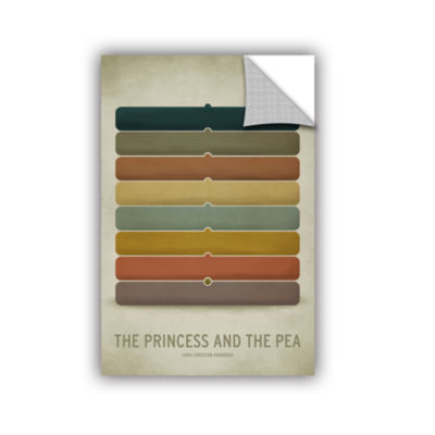 Brushstone Princess Pea Removable Wall Decal