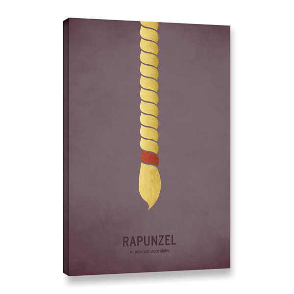 Brushstone Rapunzel Gallery Wrapped Canvas Wall Art
