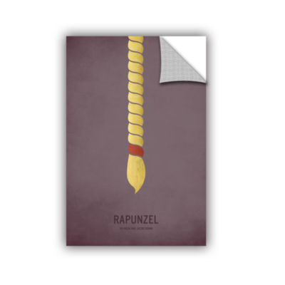 Brushstone Rapunzel Removable Wall Decal