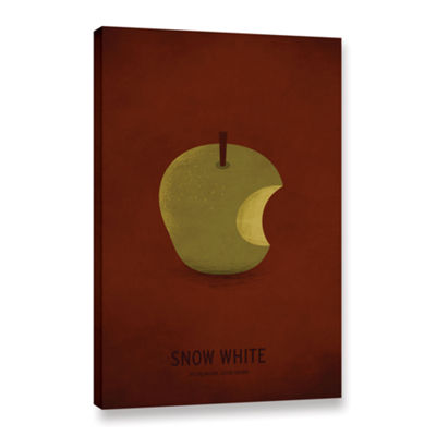 Brushstone Snow White Gallery Wrapped Canvas WallArt