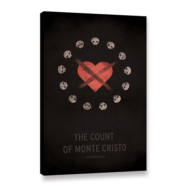 Brushstone The Count of Monte Cristo Gallery Wrapped Canvas Wall Art