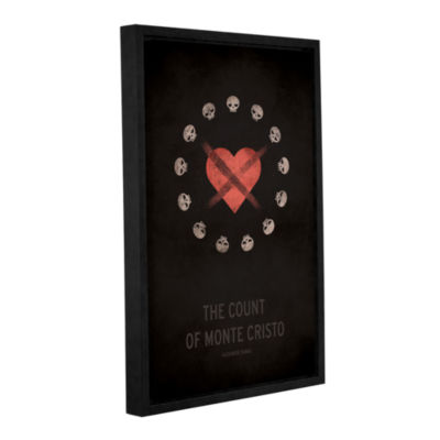 Brushstone The Count of Monte Cristo Gallery Wrapped Floater-Framed Canvas Wall Art