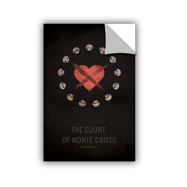 Brushstone The Count of Monte Cristo Removable Wall Decal