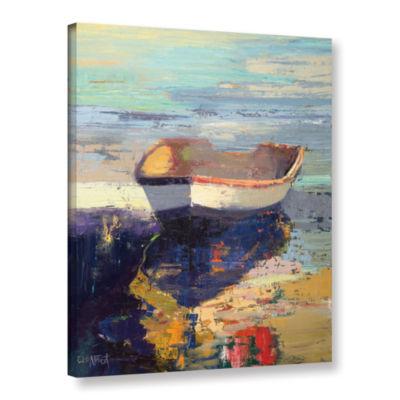 Brushstone Blueglow Gallery Wrapped Canvas Wall Art