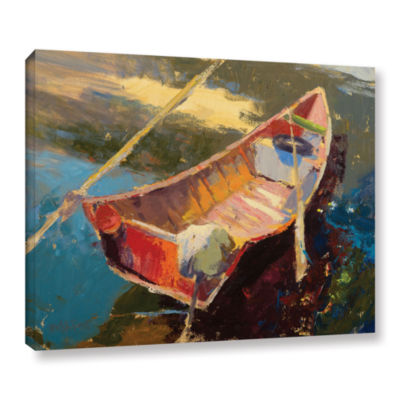 Brushstone Italian Wayfarer Gallery Wrapped CanvasWall Art