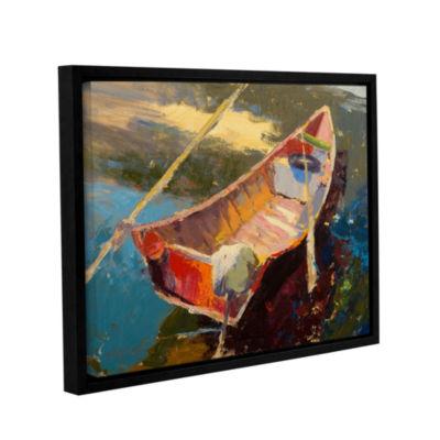 Brushstone Italian Wayfarer Gallery Wrapped Floater-Framed Canvas Wall Art