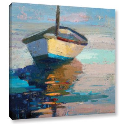 Brushstone Lap Lap Nap Nap Gallery Wrapped CanvasWall Art