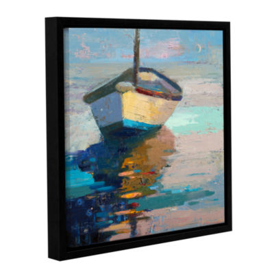 Brushstone Lap Lap Nap Nap Gallery Wrapped Floater-Framed Canvas Wall Art