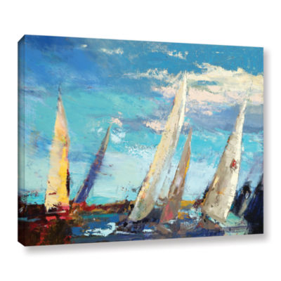 Brushstone Magnificence Gallery Wrapped Canvas Wall Art