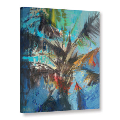 Brushstone Palm Sunday Gallery Wrapped Canvas WallArt