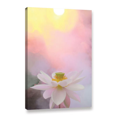Brushstone Beauty At Dawn Gallery Wrapped Canvas Wall Art