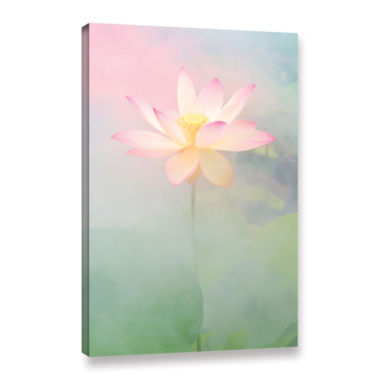 Brushstone Pink Passion Gallery Wrapped Canvas Wall Art