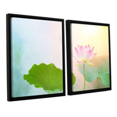 Brushstone Serenity 2-pc. Floater Framed Canvas Wall Art