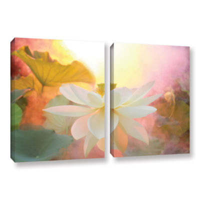 Brushstone Serenity 2-pc. Gallery Wrapped Canvas Wall Art