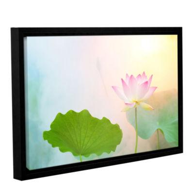 Brushstone Serenity Gallery Wrapped Floater-FramedCanvas Wall Art