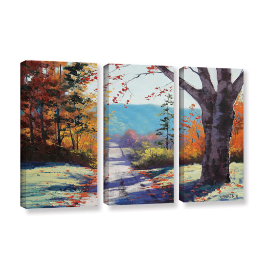 Brushstone Autumn Delight 3-pc. Gallery Wrapped Canvas Wall Art