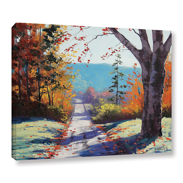 Brushstone Autumn Delight Gallery Wrapped Canvas Wall Art