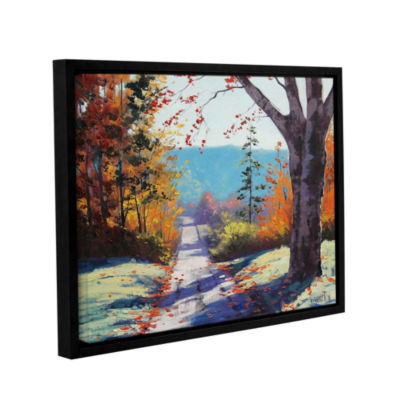 Brushstone Autumn Delight Gallery Wrapped Floater-Framed Canvas Wall Art